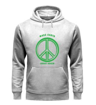 Make Earth Graet Again-Organic Hoodie