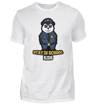 Panda Bear police security Gift