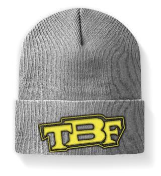 TBF Beanie Mütze Bestickt