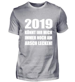 Lustig 2019 Silvester Neujahr Geschenk
