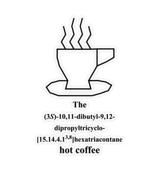 hot coffee - IUPAC - b - IV