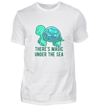 Turtle seafood magic gift
