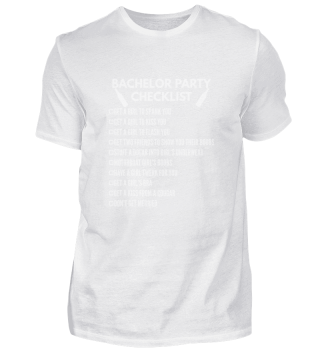 Bachelor Party Checklist