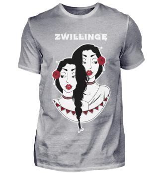D007-0116D Sternzeichen - Zwillinge