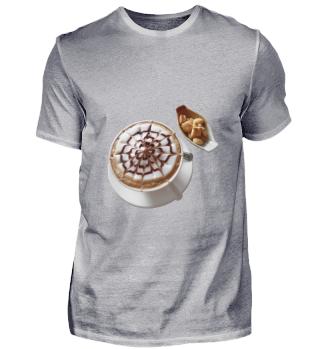 Kaffe mit Keks