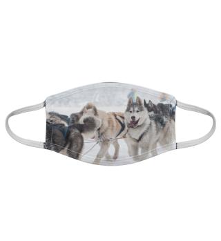 Gesichtsmaske mit Hundemotiv 20.10