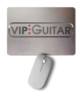 Mousepad Vip-Guitar Logo