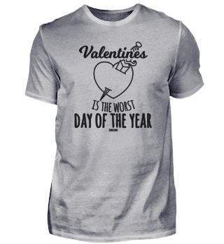 Valentine heart broken