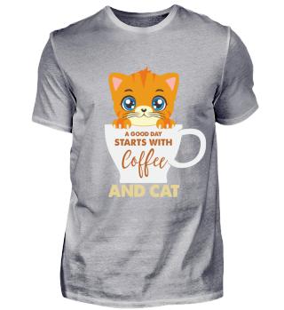 Katze Kätzchen Kaffee Geschenk Kitty