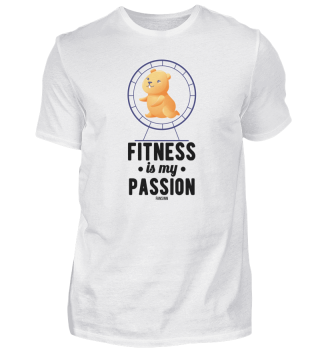 Fitness is my passion hamster