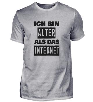Ich bin älter als das Internet