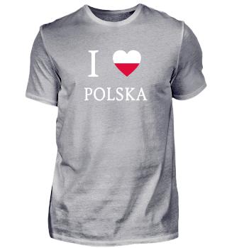 I Love - Polen - Polska