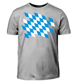 Freistaat Bayern Farben - Ausschnitt