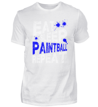 eat sleep paintball repeat