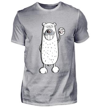 Happy Eisbär I Polarbär I Bär
