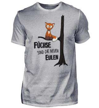 Fuchs wie Eule | Füchse neue Eulen