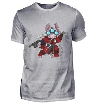Taccat Red Ninja Assassin Geschenk
