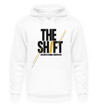 THE SHIFT Hoodie Unisex White