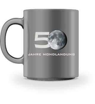 Mond | 50 Jahre Mondlandung Tasse