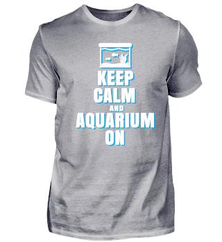 Aquarium ruhiger Panzer