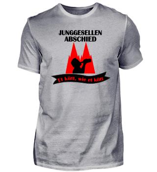 JGA T-shirt: Kölle