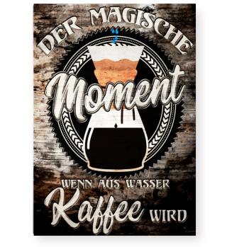 Poster Der magische Kaffee