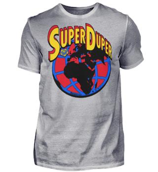 Herren Kurzarm T-Shirt Super Duper Globe