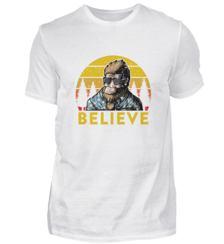 Bigfoot Believe Cool Sasquatch Sunglasse