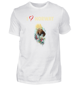 I LOVE NORWAY - Gift
