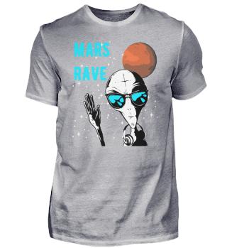 Alien Mars Rave blau