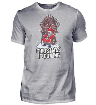 Christmas is coming lustig Geschenk