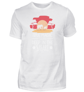 True magic is hidden in the safari