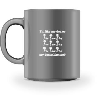 Funny Girl Dog Mug