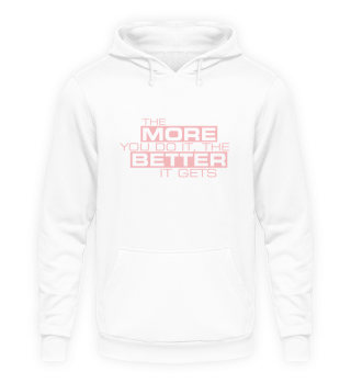 Hoodie Damen Spruch Motivation Erfolg