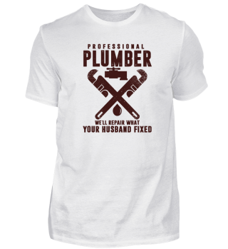 Professional plumber we'll repair what