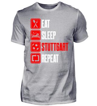 EAT, SLEEP, STUTTGART, REPEAT