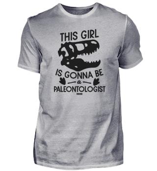 Paleontology dinosaur bones Girls