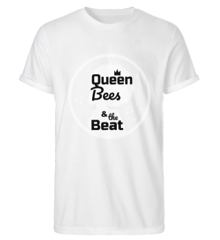 Queen Bees Herren Roll-Up Shirt schwarz