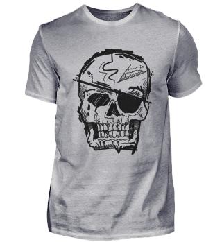 Totenkopf Skull Pirat Abstrakt Cool