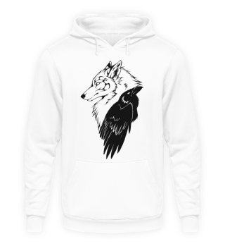ShadowZ - Wolf + Eagle Hoodie