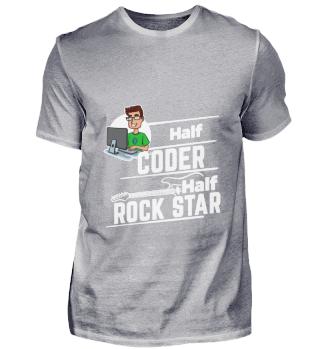 D001-0336A Coder Programmierer - Half Ro