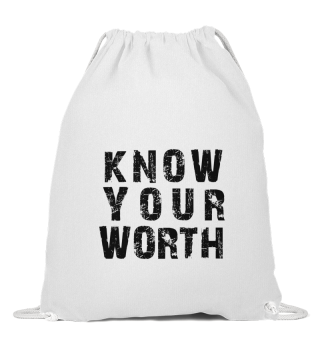 #2-VERSION - KNOW YOUR WORTH