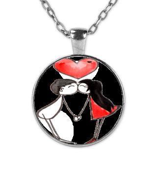 Kiss Love Valentinstag Geschenk idee