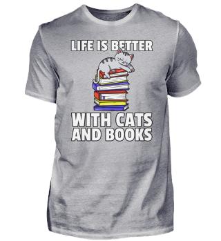 Cat Kitten Book Reading Bookworm