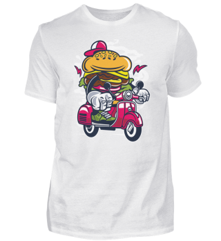 ☛ Burger Scooter #20.1