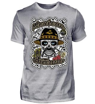 Herren Kurzarm T-Shirt Mexican Chicano Ramirez