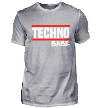 Techno Techno Babe Rave Raver Techno