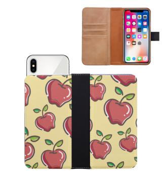 Apfel Handyhülle Handwallet Geschenk