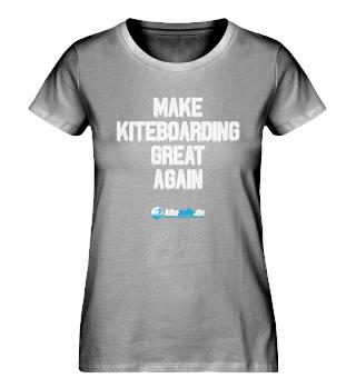 kitesafe.de Damen Premiumshirt MKGA ws
