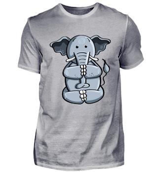 Yoga Elefant I Elefanten Comic I Lustig